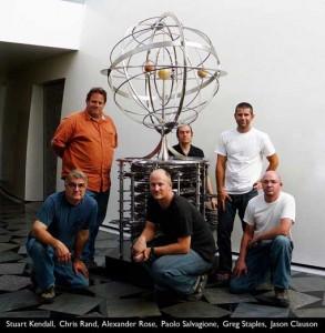 Het bouw- en ontwerpteam.