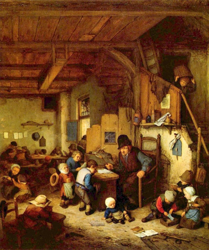 Ons onderwijs heeft nog veel trekken van de zeventiende eeuw.