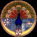De pauwenengel Melek Taus speelt een belangrijke rol in het Jesidi-geloof. Jezidi