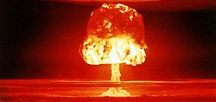 Atoombommen, een voorbeeld van rampzalige techniek.