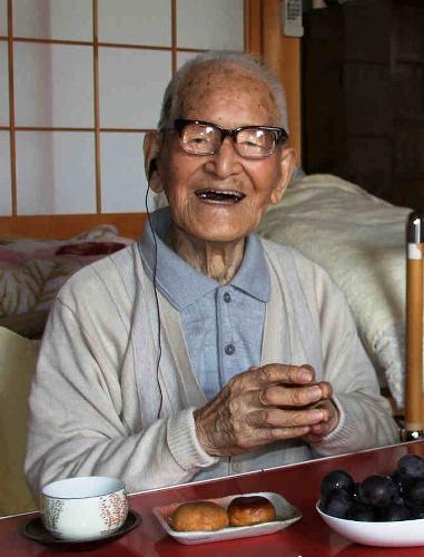 Jiroemon Kimura in 2011.