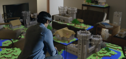 Minecraft spelen in je kamer. Ouders zullen spoedig schuifelende kinderen over de vloer zien bewegen, als het aan Microsoft ligt.