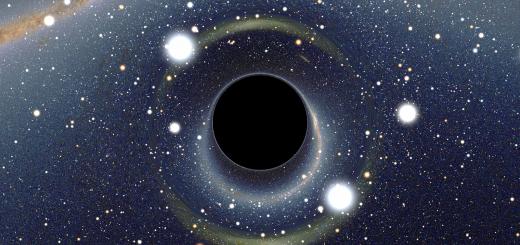Zwarte gaten vormen de droom voor iedere energietechnicus. Vrijwel alle massa die je er in gooit levert 30% of meer pure energie op, tientallen malen meer dan kernfusie, en het zwarte gat is zo koud, dat het thermodynamisch rendement vrijwel 100% is. Bron: Wikimedia Commons