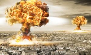 Een van de gevolgen va het terugtrekken van de Amerikaanse troepen zou een kernaanval van China op een zich herbewapenend Japan kunnen zijn.
