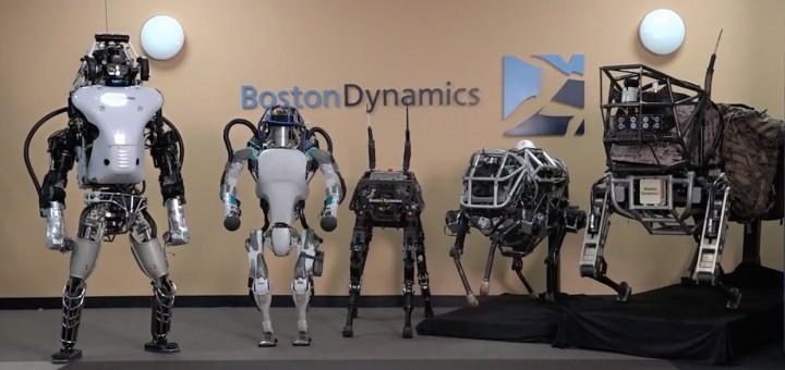 De nieuwste Boston Dynamic modellen benaderen de menselijke prestaties nu.