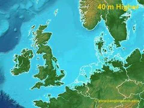 In het ergste geval wordt Nederland kleiner dan Luxemburg door de zeespiegelstijging.