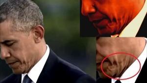 Betrapt! Obama is een undercover alien. Een van de vele samenzweringstheorieën die de ronde doen..