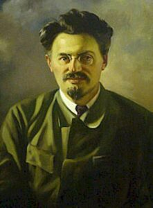 Lev Bronstein, a.k.a.Trotski.