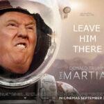 Trump-haters zien Trump graag gelanceerd naar ergens ver, heel ver weg.