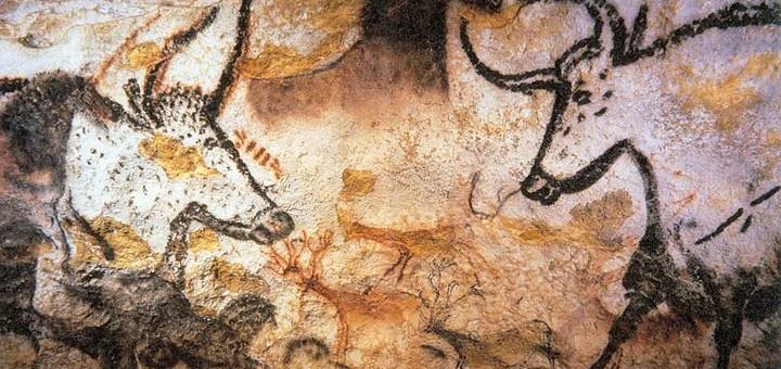 Deze natuurgetrouwe rotsschilderingen van Cro Magnons laat zien dat ze niet dommer waren dan wij. Bron: Wikimedia Commons