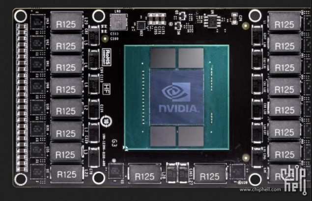 De Nvidia Pascal-lijn bevat duizenden processoren. Dit rekenmonster vindt gretig aftrekbij makers van kunstmatige intelligentie-toepassingen. Bron: NVidia