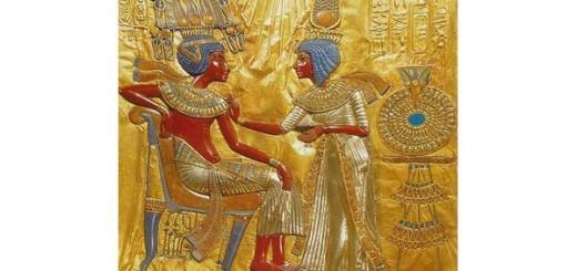 De bekende farao Tutanchamon was getrouwd met zijn zuster, koningin Ankhesenamun.