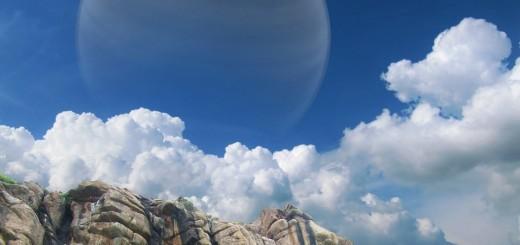 Een exoplaneet die als maan rond een Jupiterachtige gasreus heendraait, zou een nieuw thuis voor de mensheid kunnen zijn.