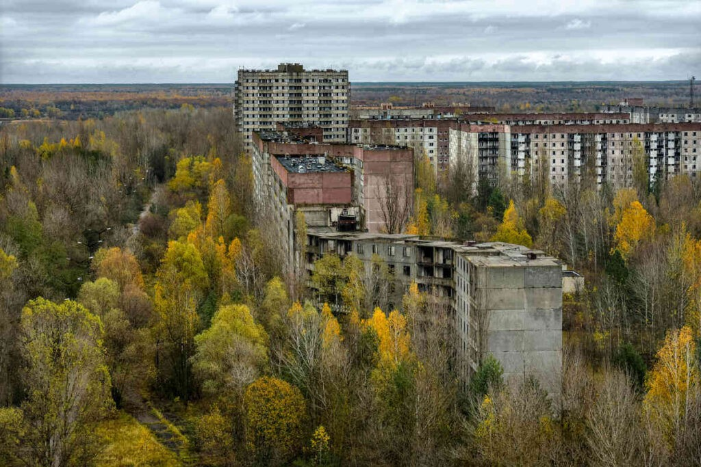 Pripyat nu. Betekent het Doomsday argument of Carter Catastrophe, dat we als mensheid gedoemd zijn?