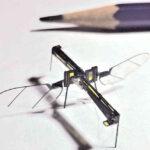 Drones zo groot als een insekt kunnen voor spionage, maar ook voor moordaanslagen worden gebruikt.