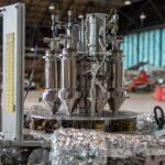 Helaas stierf de Hyperion nucleaire batterij een vroege dood. Dit kleine apparaat kan een eiland zo groot als Texel voor twintig jaar van stroom voorzien.