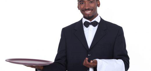 Mannen willen best huishoudelijk werk doen, maar dan wel betaald, als butler. Bron: Pavillion Agency, https://pavillionagency.com/butlers/modern-day-butler