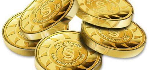 Solarcoin is een voorbeeld van een energie gebaseerde munt.