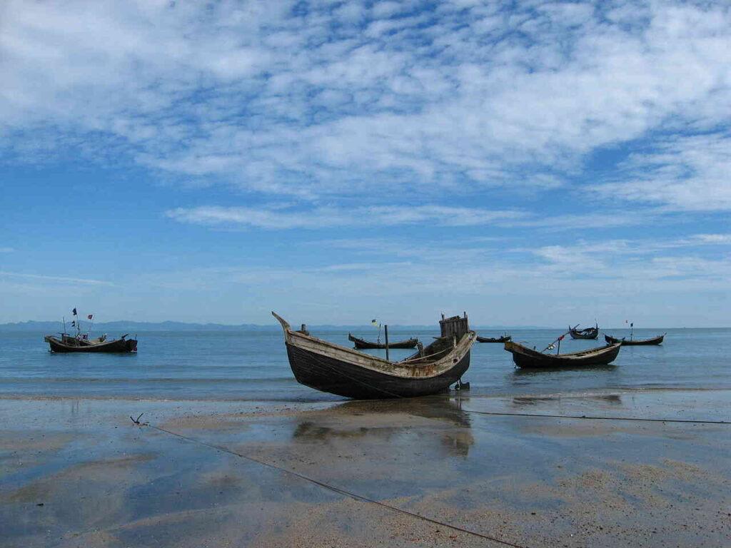 Narikel Janjira, buiten Bangladesh beter bekend als Saint Martin's Island, wordt een steeds geliefdere toeristische bestemming.