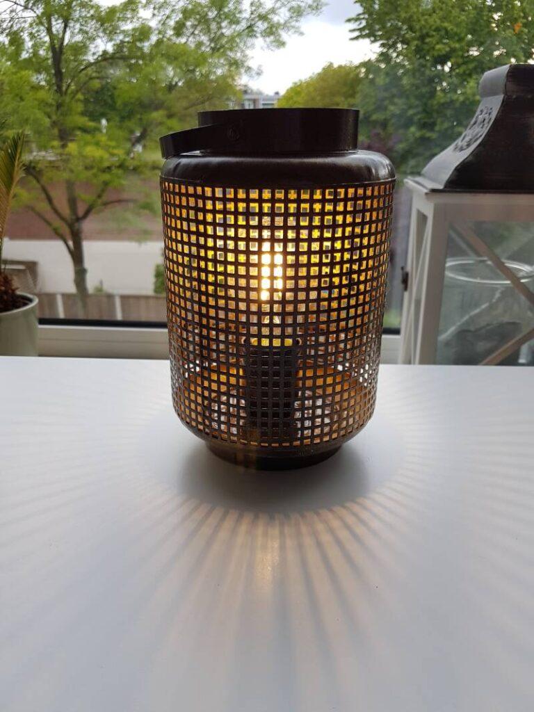 Was dit een filter? Nu is het een industriële lamp. Een mooi voorbeeld van upcycling. Bron: lampenoplichters.nl