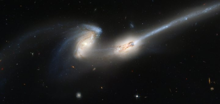Een vijfde natuurkracht kan mogelijk donkere materie en.of donkere energie verklaren. Bron: NASA