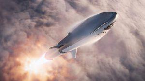 SpaceX's Starship en Super Heavy Rocket, die goedkope maan- en Marsmissies binnen bereik moeten gaan brengen, zijn goede voorbeelden van de ontwerpprincipes van Elon Musk in de praktijk. Bron/copyright: SpaceX