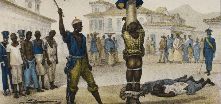 Lijfstraffen zoals zweepslagen, in de Lage Landen al meer dan een eeuw geleden afgeschaft, komen weer terug als islamisten hun zin krijgen. Bron: L'Exécution de la Punition de Fouet door Jean-Baptiste Débret (1829)