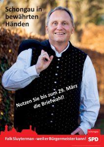 Bij onze oosterburen bestaat de gekozen burgemeester al lang. Veel landelijke Duitse politici waren burgemeester of hoofd van een deelstaat. Copyright: SPD Schöngau