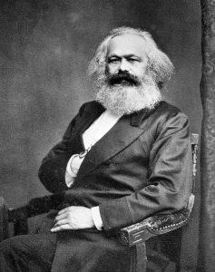 Karl Marx, de grondlegger van de ideeën achter het marxisme. Bron: Wikimedia Commons