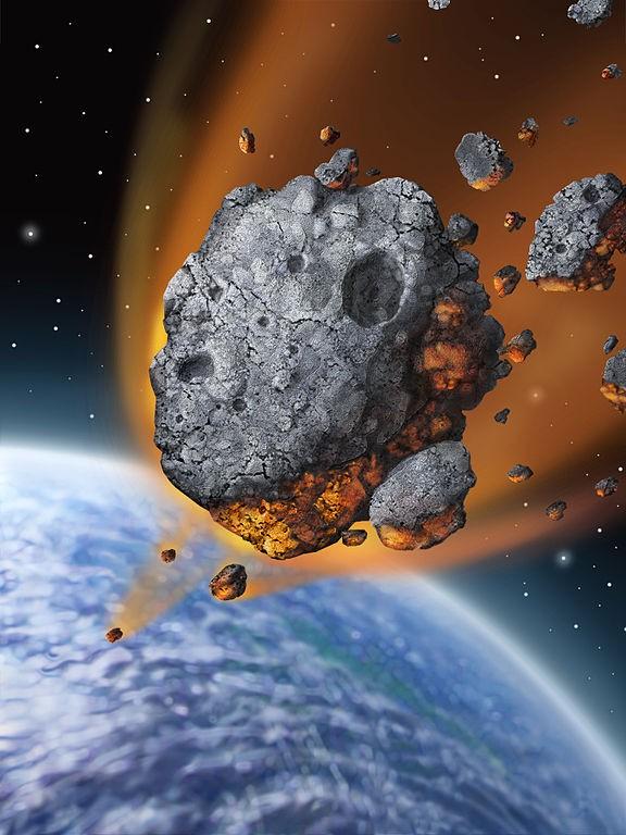 Einde van de wereld. Bron: Wikimedia Commons