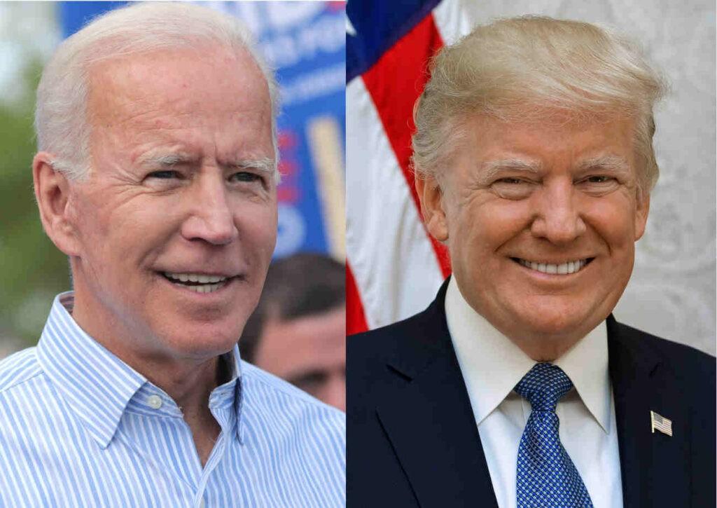 De verkiezingsstrijd tussen links en rechts in Usa liep eind 2020 hoog op.
