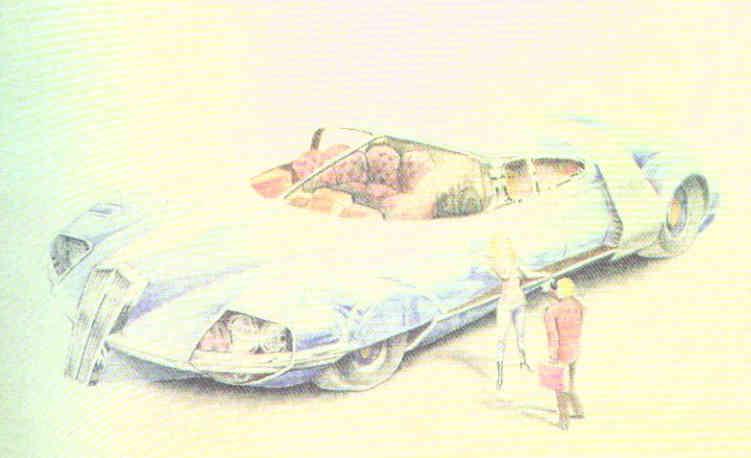 Deze duurzame luxe auto voor Eldorica bestaat uit de grondstoffen van de auto's, die er in onze maatschappij doorheen worden gejaagd. (c) Jurriaan H. Andriessen