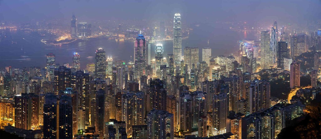 Hongkong, een van de klein stukjes Europa in Azië. Foto van DAVID ILIFF. License: CC BY-SA 3.0